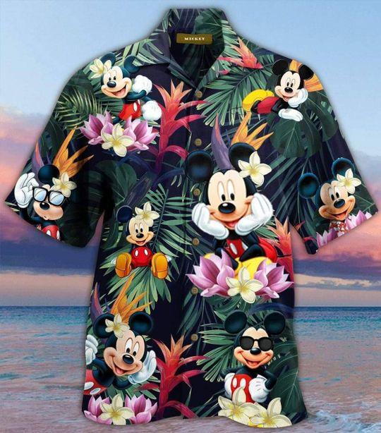 1 Mickey Mouse Hawaiian Shirt And Short Summer 1