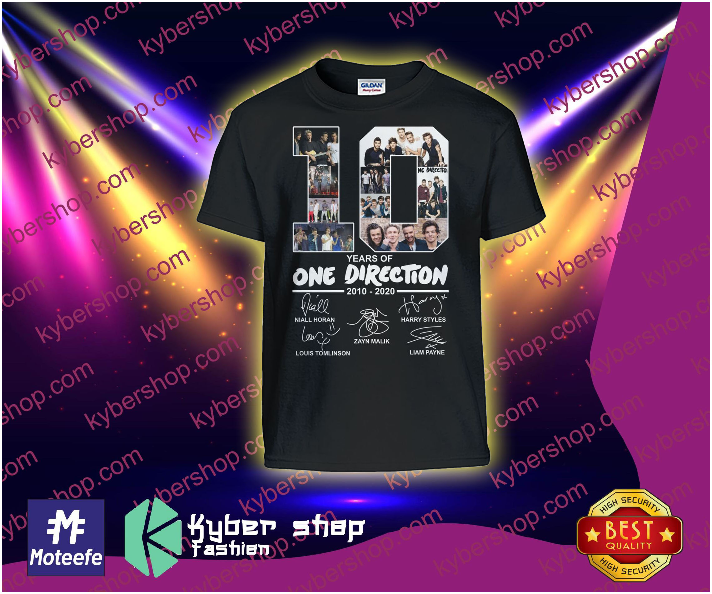 Years of One direction   shirt