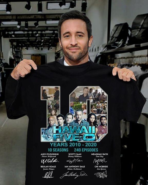 years Hawaii Five    shirt