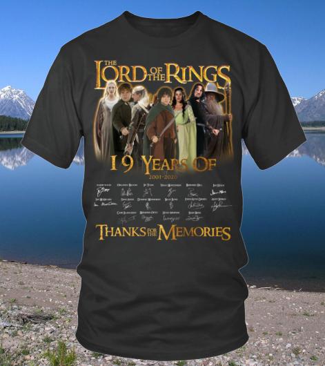 YearsOfTHELORDOFTHERINGSshirt