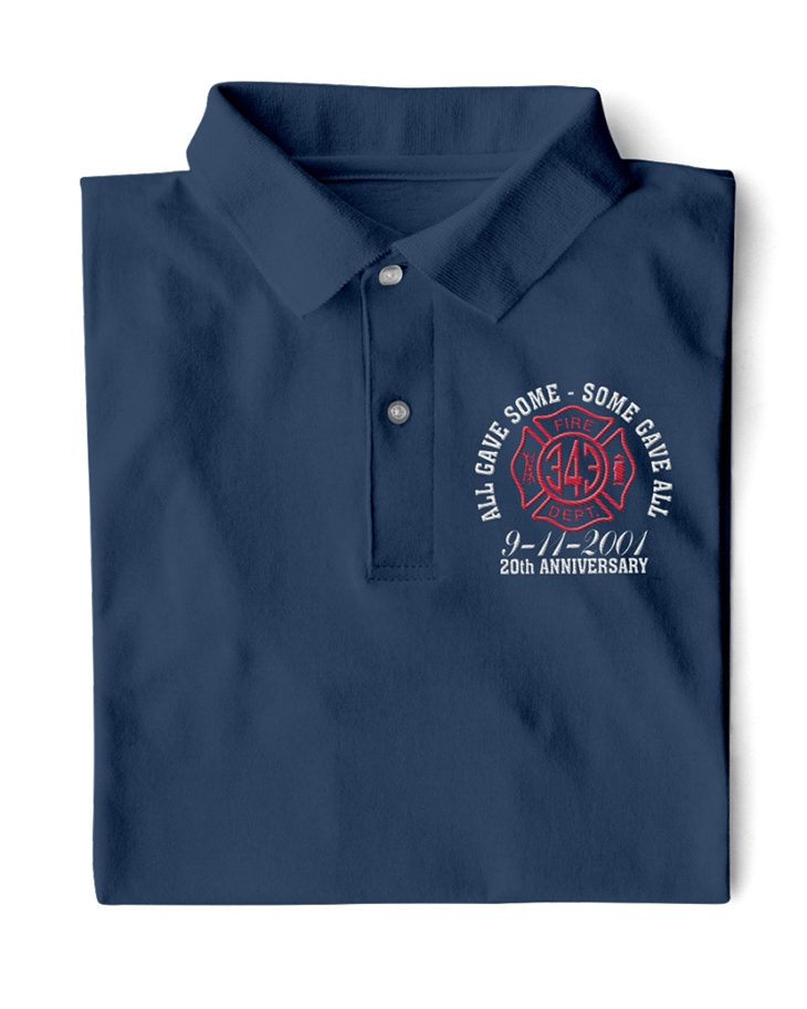 All Gave Some Some Gave All 9 11 2001 20th Anniversary Polo Shirt1