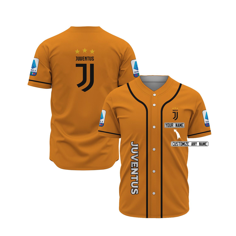 Juventus custom name baseball jersey 31