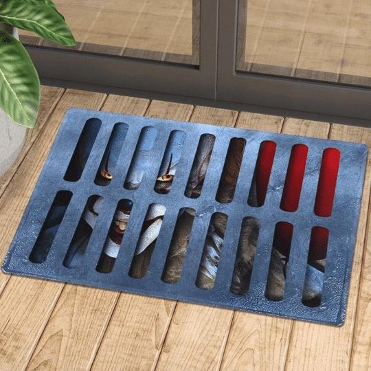 3D Illusion Horror IT Doormat