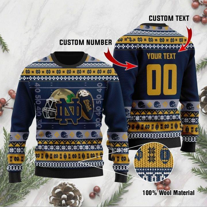 Notre Dame Fighting Irish ugly sweater 1