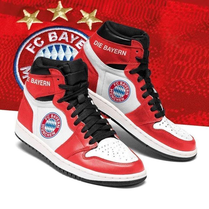 Bayern munchen air jordan high top shoes 4