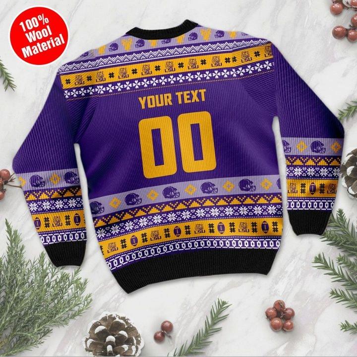 LSU Tigers Ugly Christmas Sweater 3