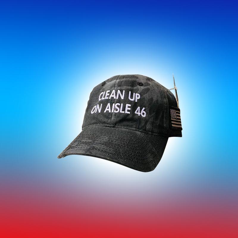 Clean Up On Aisle 46 Hat Cap