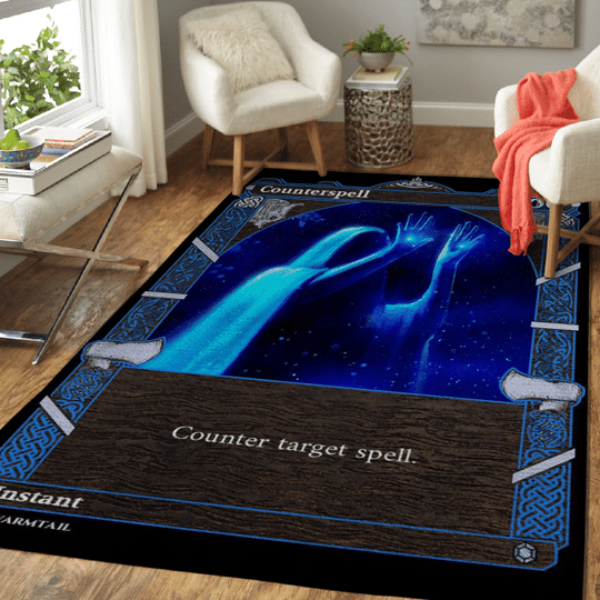 9 Counterspell Nordic Frame card Rug 1