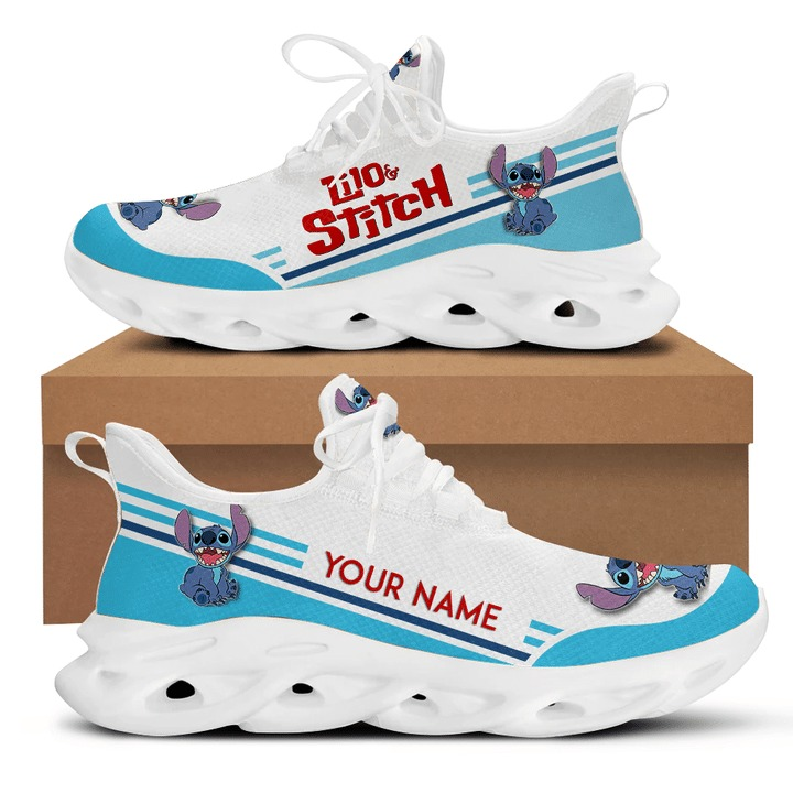 Stitch and lilo custom name clunky max soul shoes 1