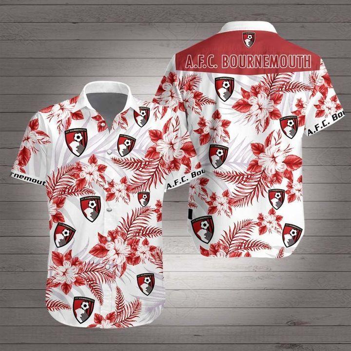 AFC bournemouth hawaiian shirt 1