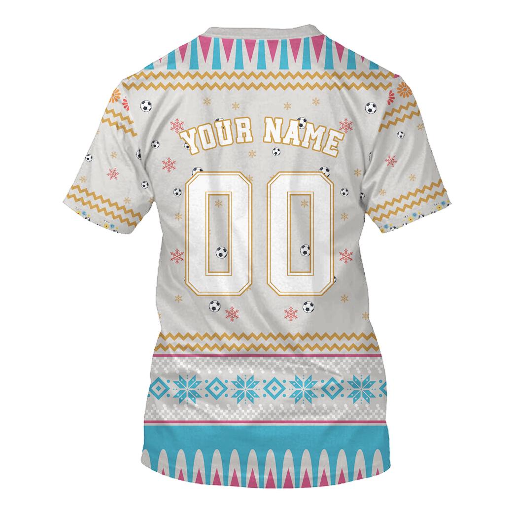 Newcastle United custom 3d all over print hoodie 3
