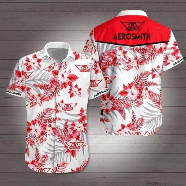 Aerosmith hawaiian shirt