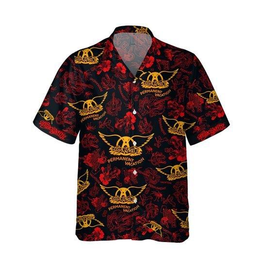 Aerosmith permanent vacation Hawaiian Shirt1