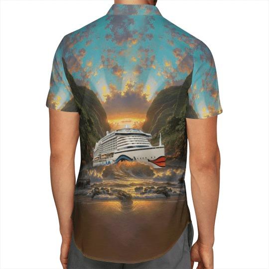 Aida cruises hawaiian shirt 3