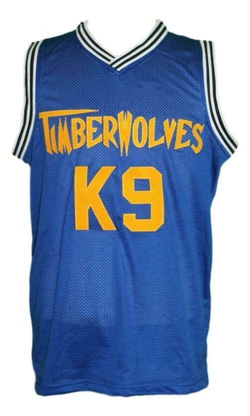 Air Bud K9 Timberwolves Basketball Jersey New Sewn Blue1