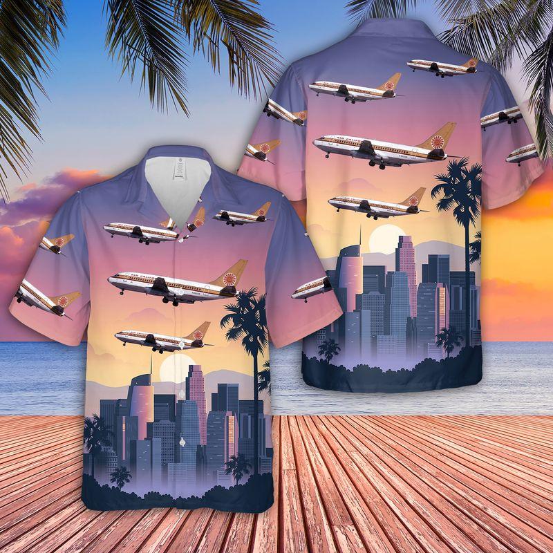 Air California Boeing 737 293 Hawaiian Shirt 1