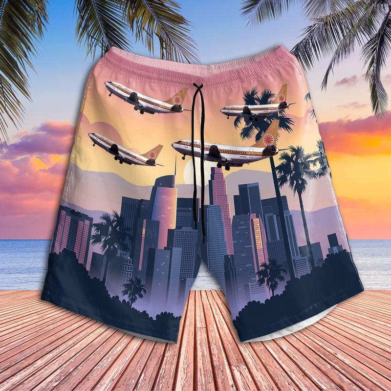Air California Boeing 737 293 Hawaiian Shirt 2