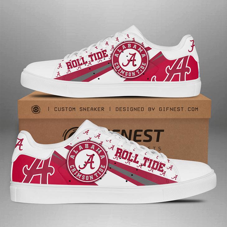 Alabama Crimson Tide Roll Tide Stan Smith Shoes