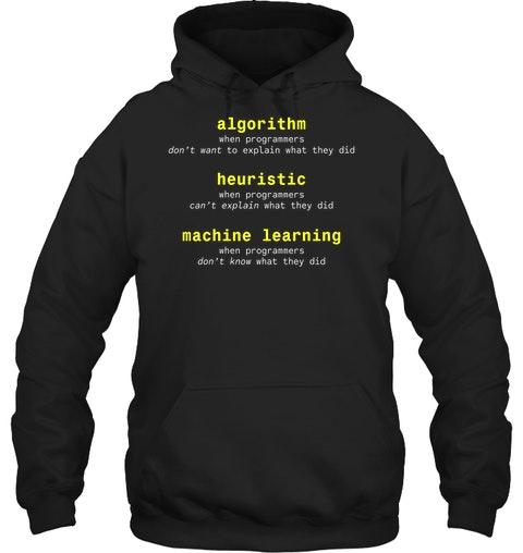 Algorithm Heuristic Machine Learning Shirt8 1