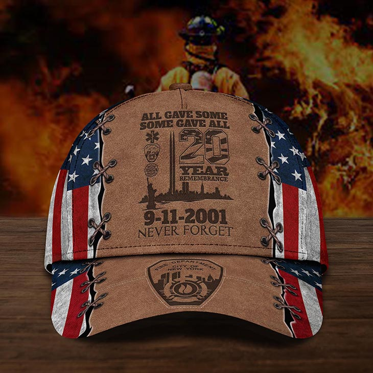 All Gave Some Some Gave All 20 Year 9 11 Never Forget Cap