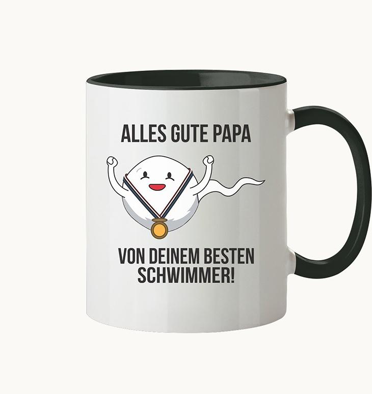 Alles Gute Papa Von Deinem Besten Schwimmer Mug