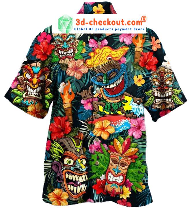 Aloha Tiki Tiki Awesome Unisex Hawaiian Shirt