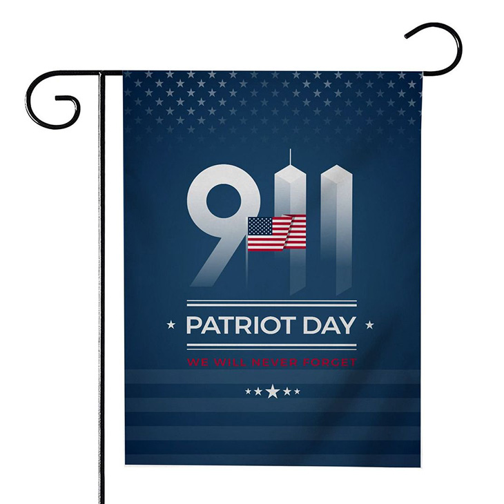 American Flag Patriot Day We Will Never Forget Flag