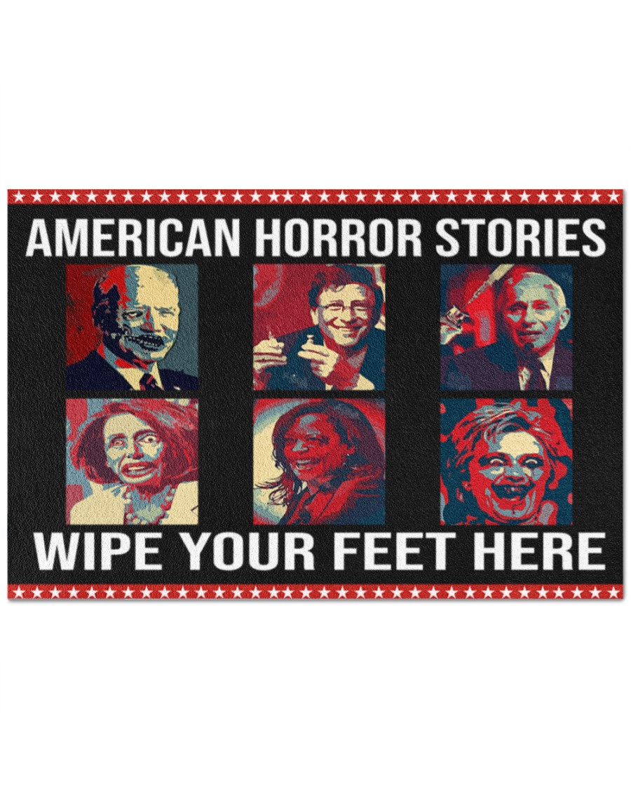 American Horror Stories Wipe Your Feet Here Doormat