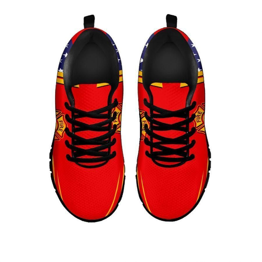 American flag Firefighter sneaker shoes 2