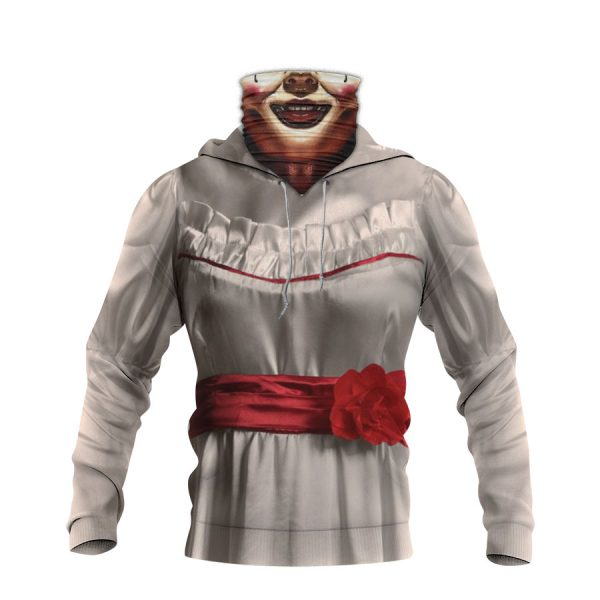 Annabelle Horror Movie 3D Hoodie Mask1