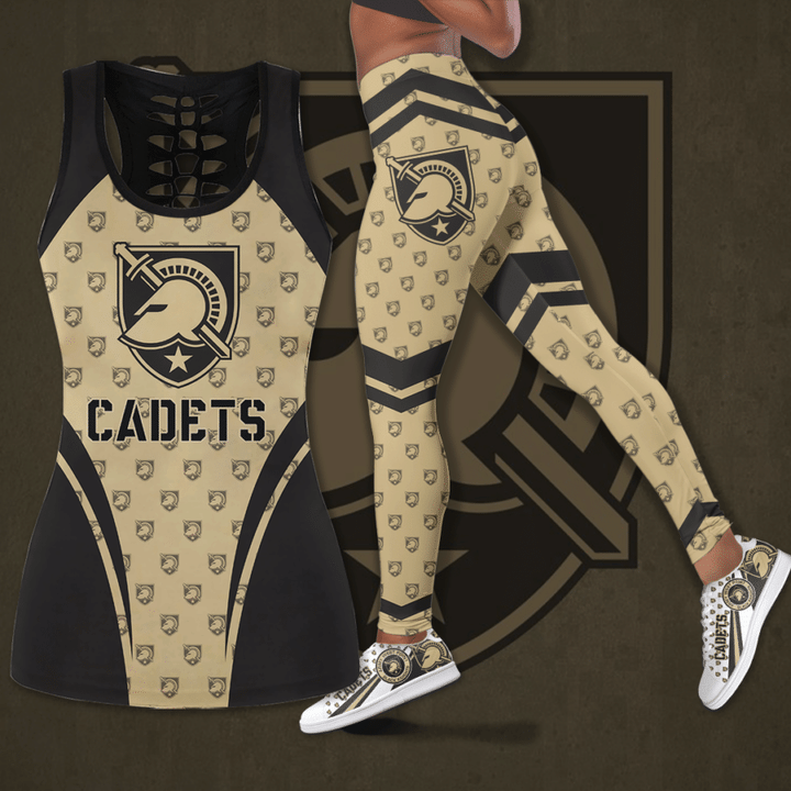 Army Black Knights football hollow legging and tank top