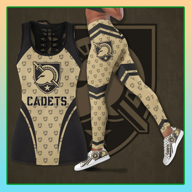 Army Black Knights football hollow legging and tank top1