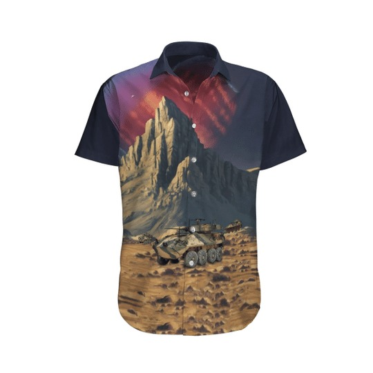 Aslav australian army hawaiian shirt 1