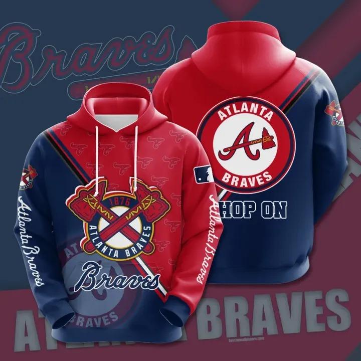 Atlanta braves 3d all over print hoodie 1 1