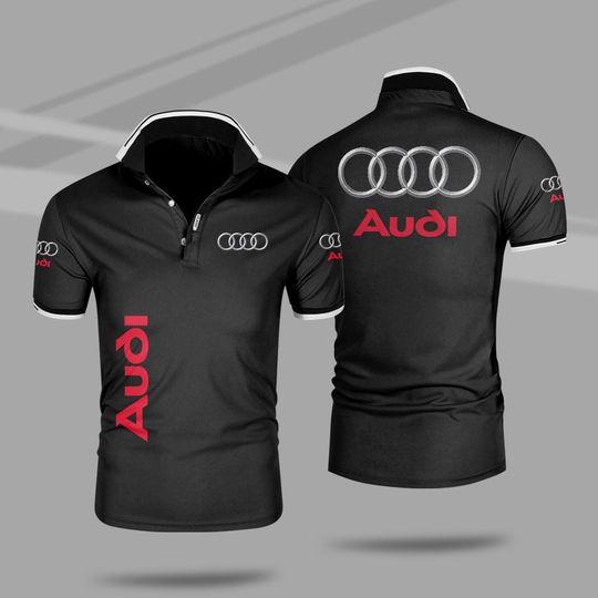 Audi 3d polo shirt 1