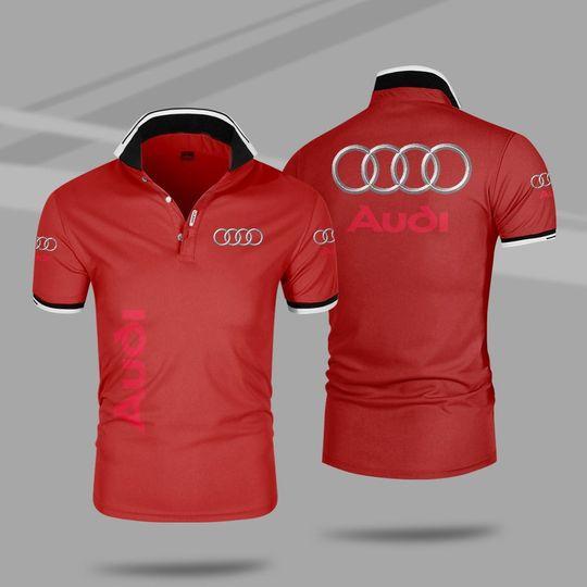 Audi 3d polo shirt 3