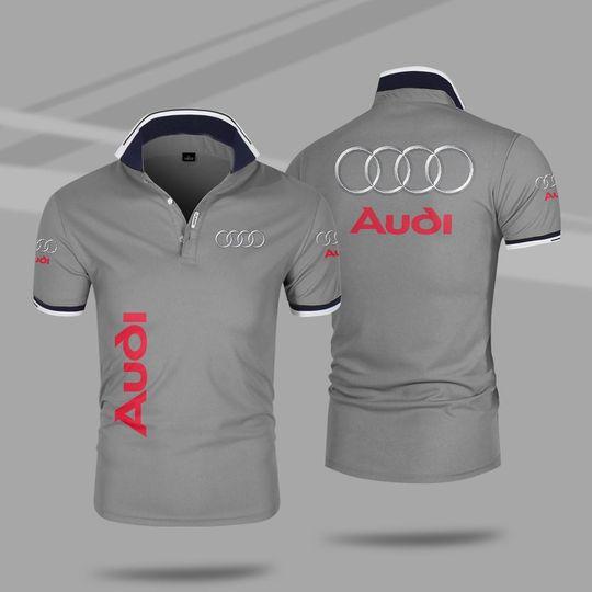 Audi 3d polo shirt 5