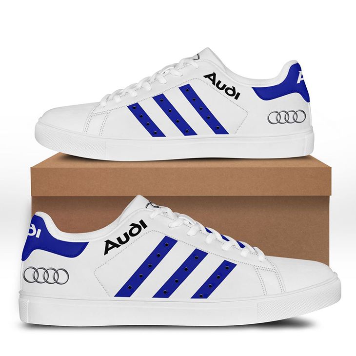 Audi Sport stan smith low top shoes 2