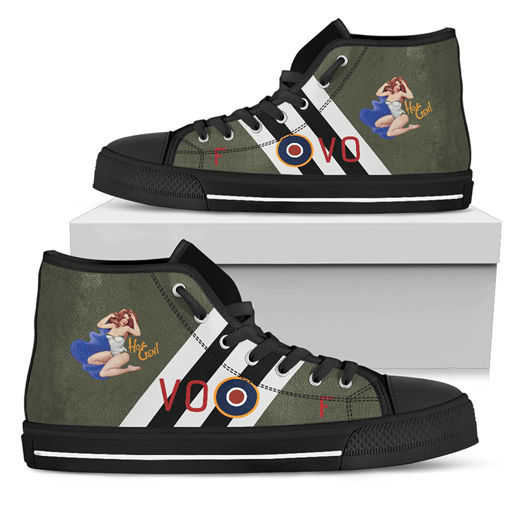 B 25 Hot Gen Inspired Mens High Top Canvas Shoes
