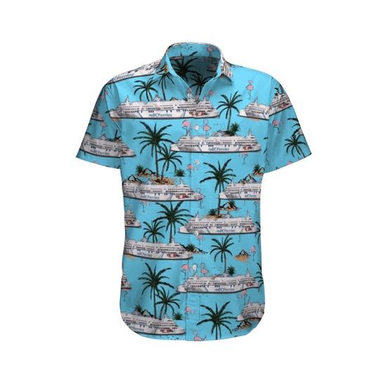 BC ferries coastal celebration hawaiian shirt 1