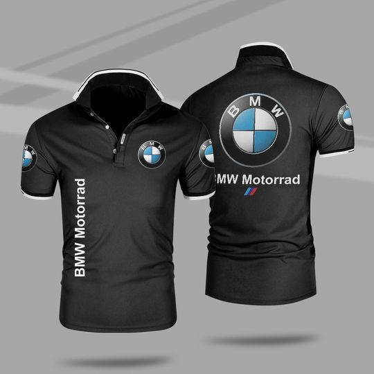 BMW motorrad 3d polo shirt 1