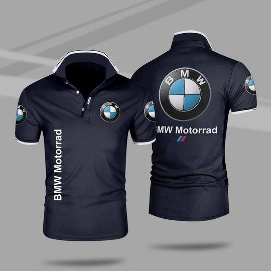 BMW motorrad 3d polo shirt 2