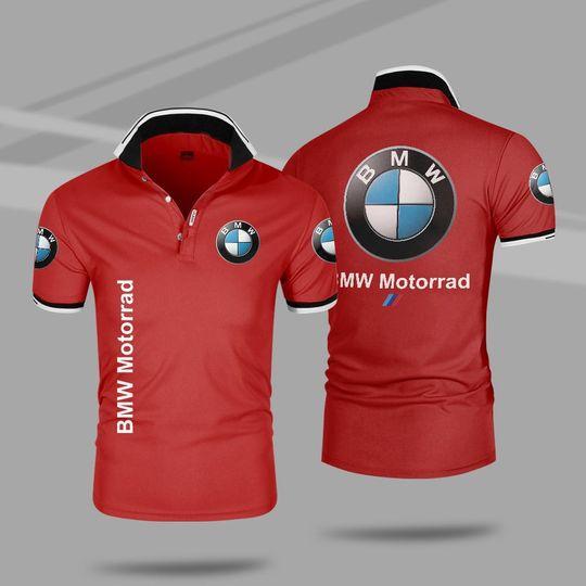 BMW motorrad 3d polo shirt 3