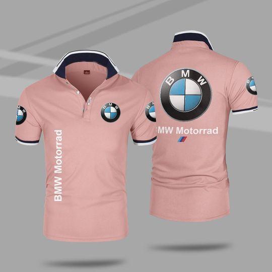 BMW motorrad 3d polo shirt 4