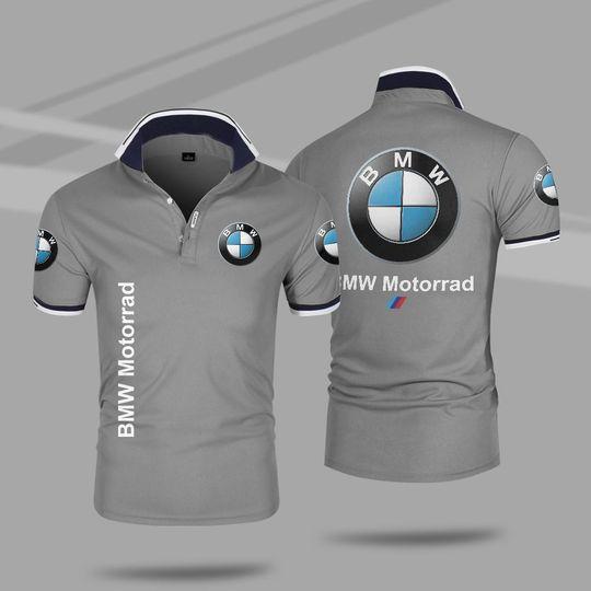 BMW motorrad 3d polo shirt 5