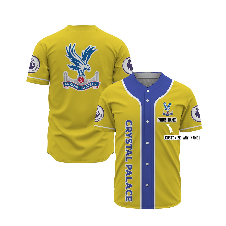 Crystal palace custom name baseball jersey 11