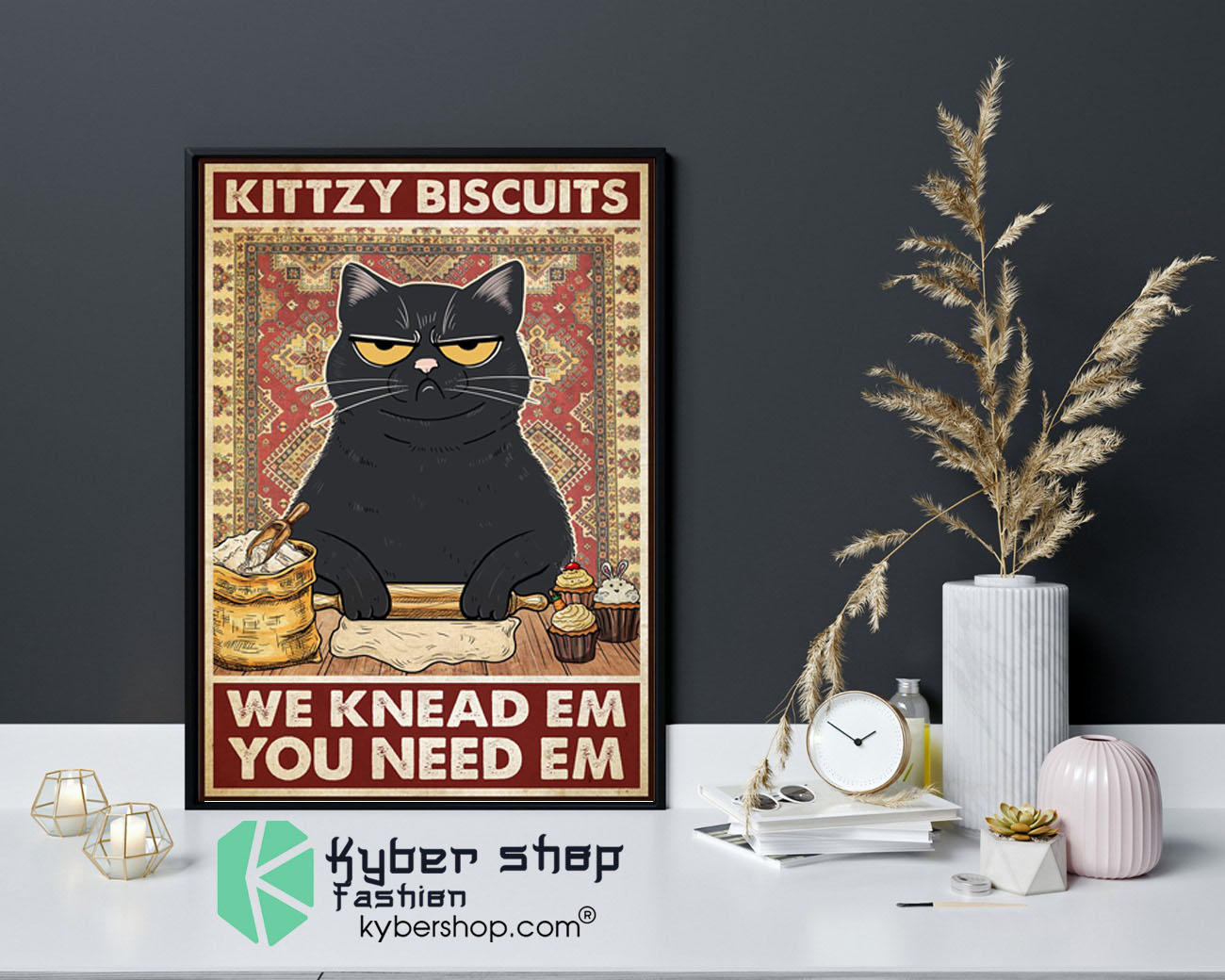 Baker Kittzy biscuits we knead em you need em poster9