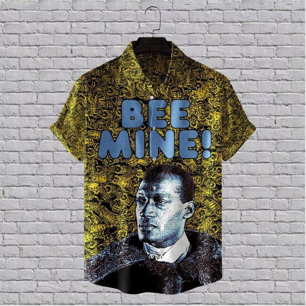 Bee Mine Candyman Horror Movie Hawaiian Shirt