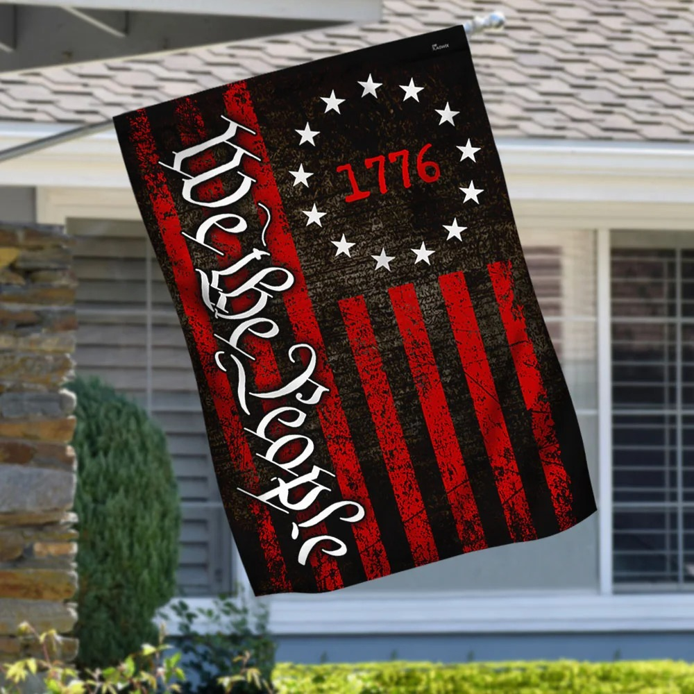 Betsy Ross We The People 1776 Flag