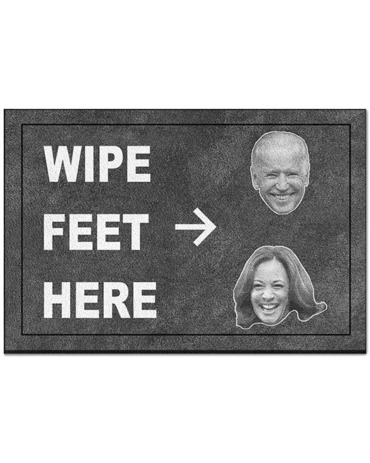 Biden Wipe Feet Here Doormat